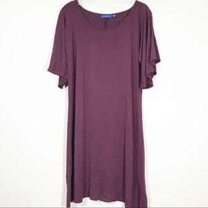 Apt 9 Womens Dress size Large Short Sleeve Sheath